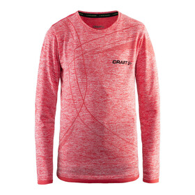 Craft Active Comfort RN LS Shirt Juniors Poppy